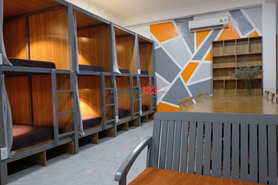 Phòng trọ, Sleepbox SV D2 Bình Thạnh giá ưu đãi sạch sẽ, đầy đủ tiện nghi