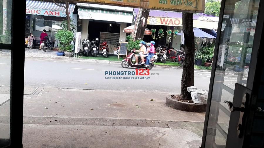 Cho thuê mặt bằng vỉa hè 4tr/ tháng, Tân Phú