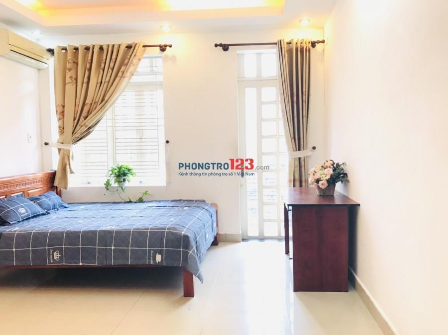 Căn hộ mini cho thuê 26m2 free nước nét cáp, giờ tự do, full nội thất
