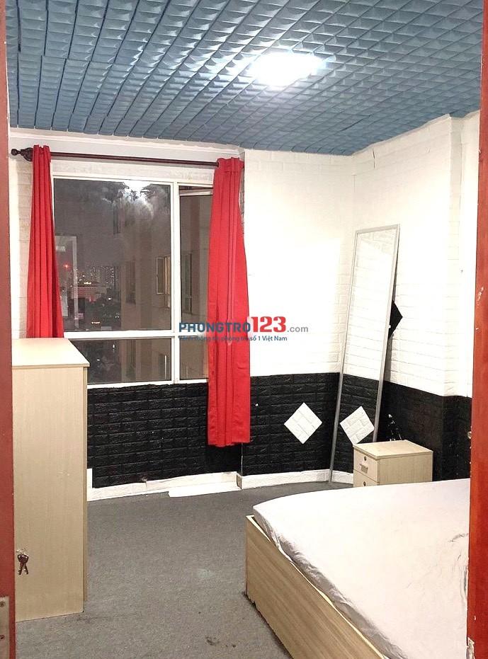 Cho thuê căn hộ Phúc Thịnh 70m2 2pn đầy đủ nội thất ngay trung tâm Q5 giá 10tr/th