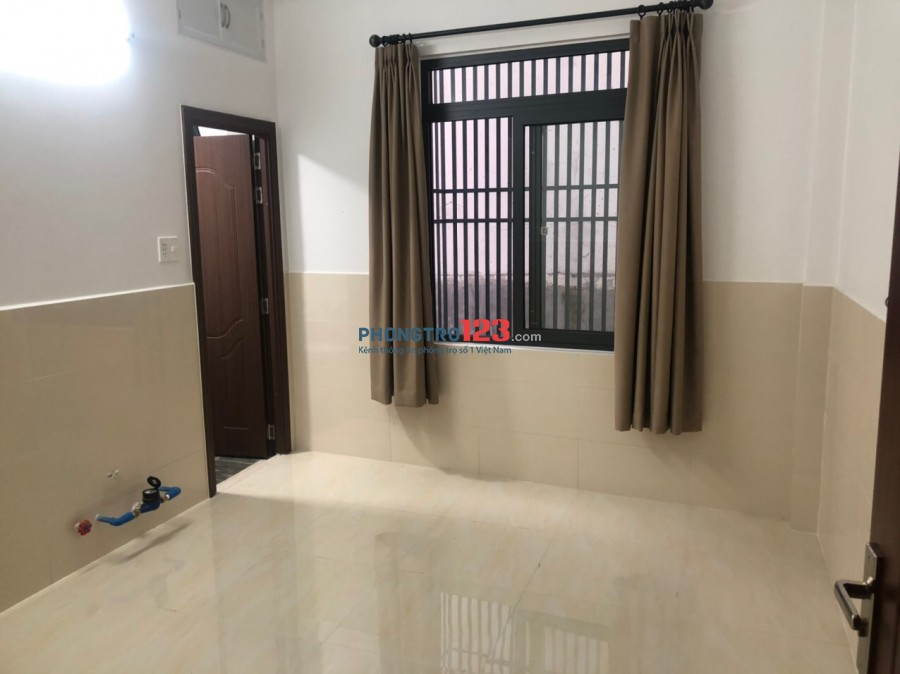 Cho thuê phòng new 100% ở Nguyễn Thượng Hiền, BT