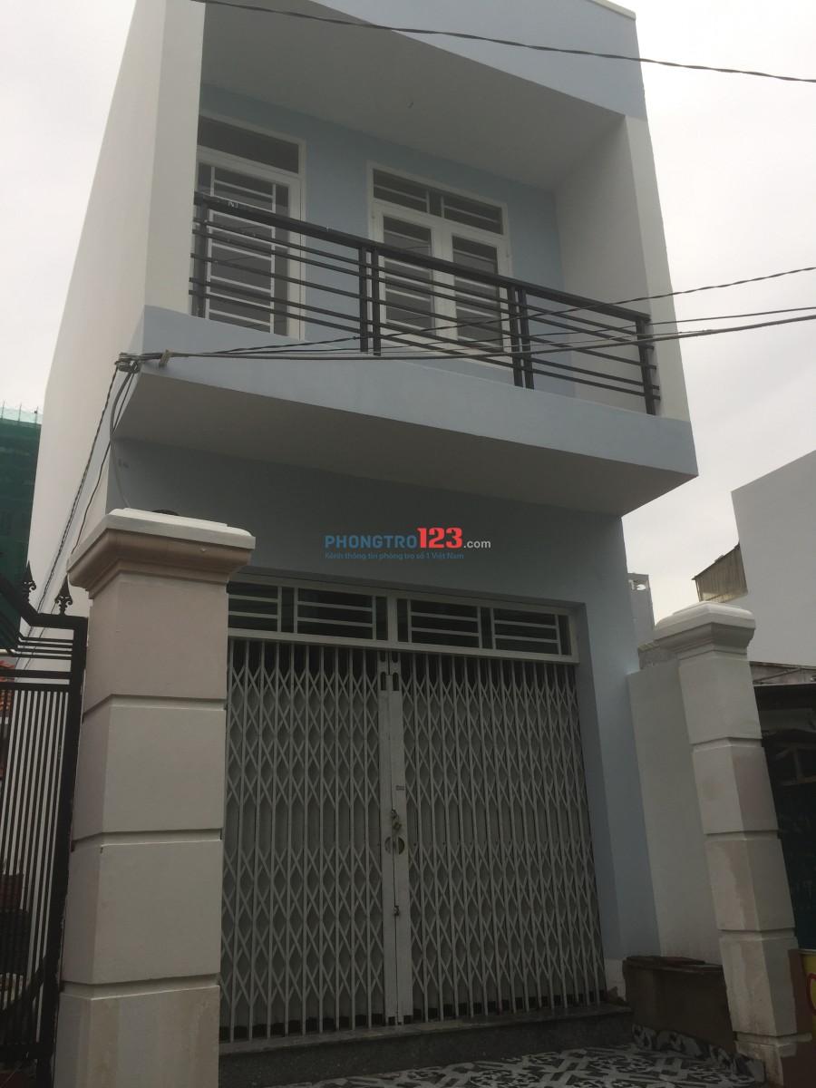 Cho thuê nhà nguyên căn đường Huỳnh Tấn Phát