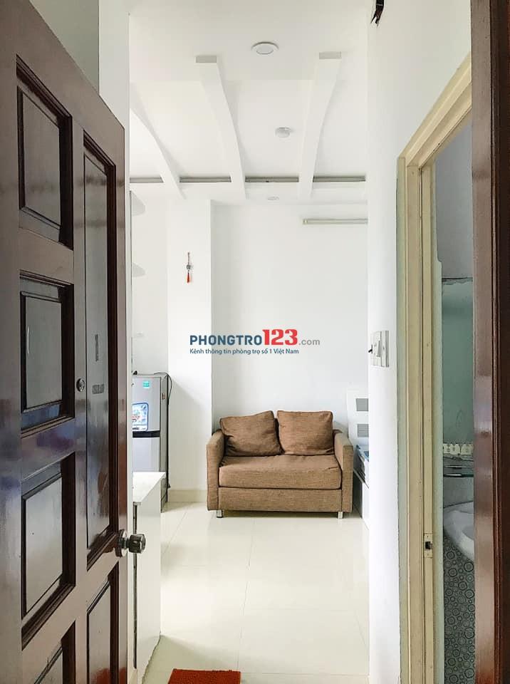 Phòng trọ Quận 5 full nội thất giá rẻ, ngay cầu Nguyễn Văn Cừ giá từ 4tr5/tháng