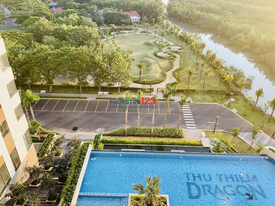 Căn 2PN Thủ Thiêm Dragon, Quận 2, công viên xanh mát 3,2ha