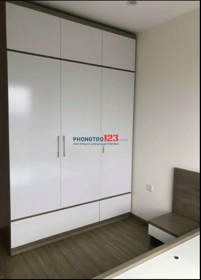 Cho thuê căn hộ VinCity Nguyễn Xiển Q9 56m2 2pn 2wc Full nội thất giá 9tr/th
