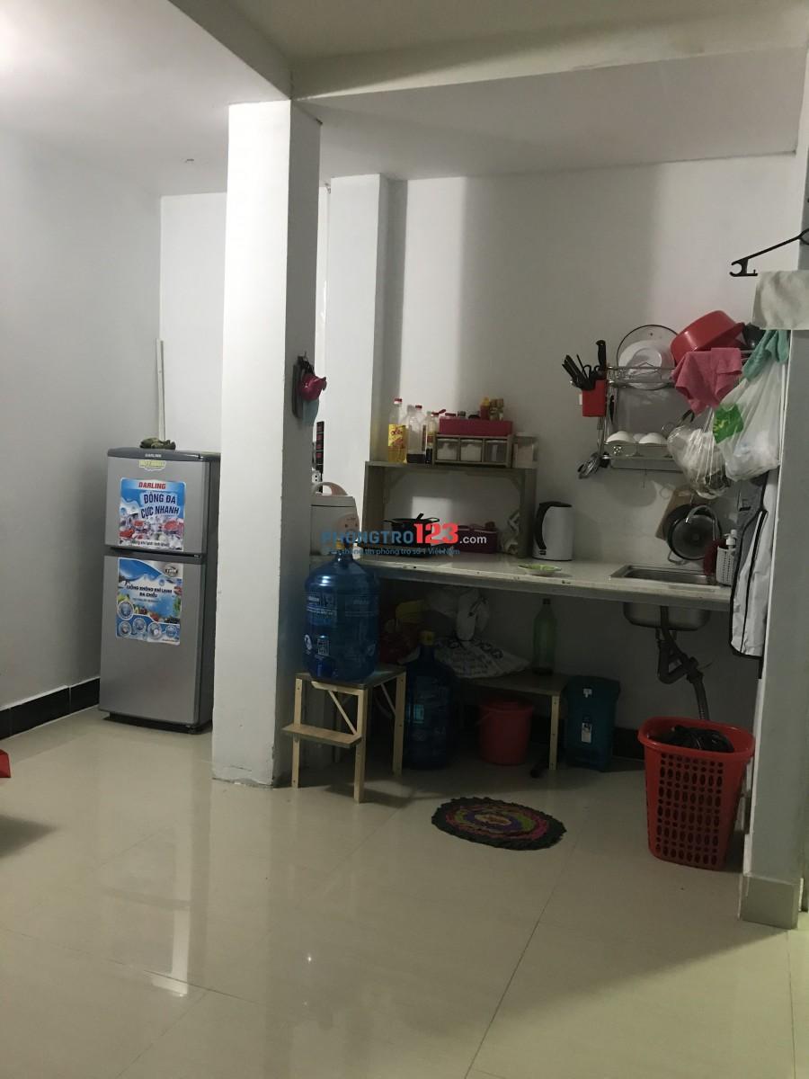 Cần nữ ở ghép Quận Gò Vấp - Phòng rộng 30m2