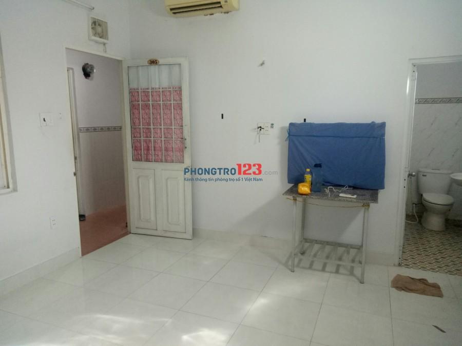 Phòng trọ có máy lạnh ngay đầu đường Chu Văn An Bình Thạnh