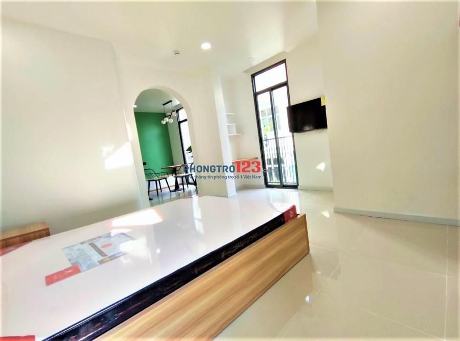 Phòng Studio, 1PN siêu đẹp mới 100% có ban công Trường Sơn -Tân Bình