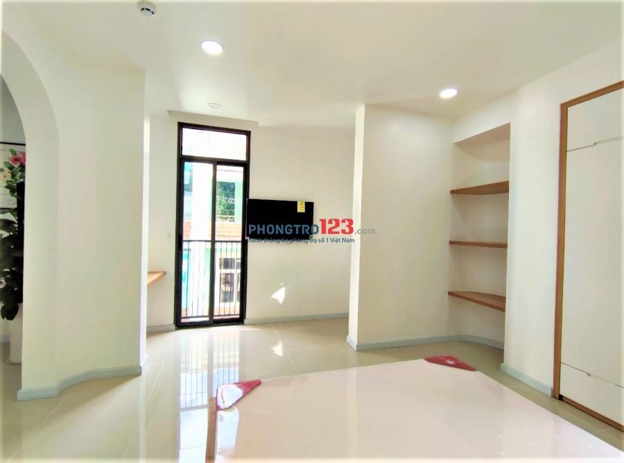 Căn hộ Studio, 1PN siêu đẹp mới 100% có ban công Trường Sơn -Tân Bình