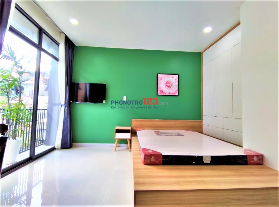 Đẳng cấp Phòng Studio siêu đẹp mới 100% có ban công Trường Sơn -Tân Bình