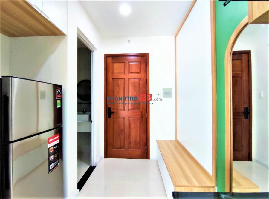 Căn hộ Studio 30M2 siêu đẹp mới 100% có ban công Trường Sơn -Tân Bình
