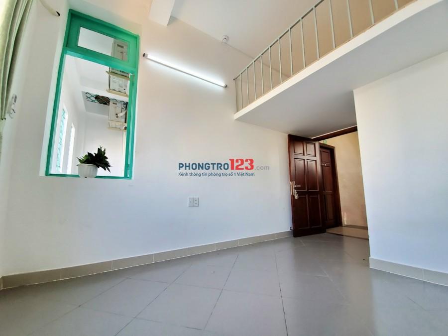 Phòng trọ 30m2 có gác + máy lạnh mới xây đường Lâm Văn Bền giá 3 triệu/tháng