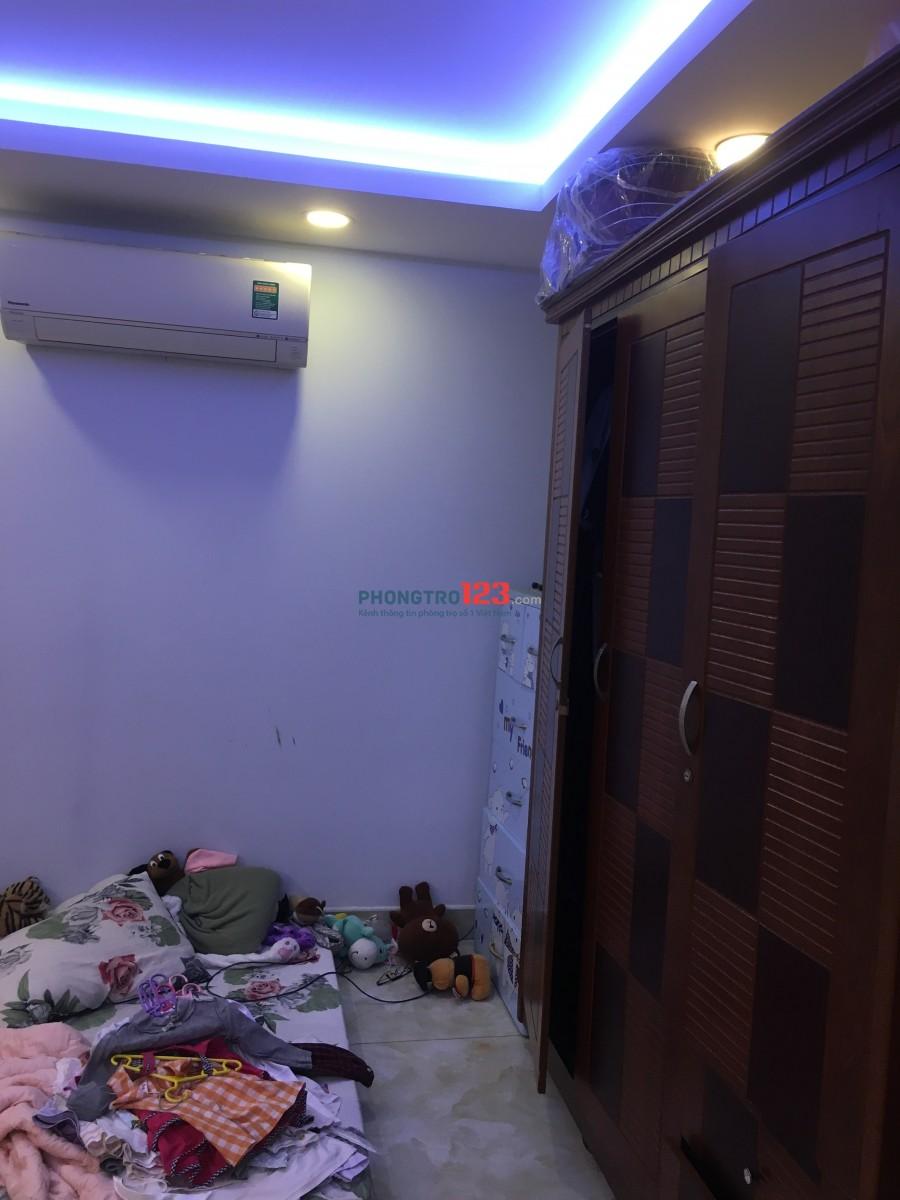Phòng trọ tầng trệt mặt tiền đường Nguyễn Trường Tộ