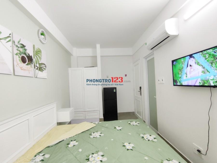 Phòng cho thuê Quận 5 Nguyễn Trãi ngay Chợ Bàu Sen Full nội thất nhà mới xây 100%