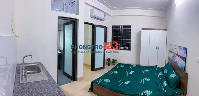 Chính chủ cho thuê CCMN Kim Giang, mới xây, gần ĐH Thăng LOng, khép kín, full đồ
