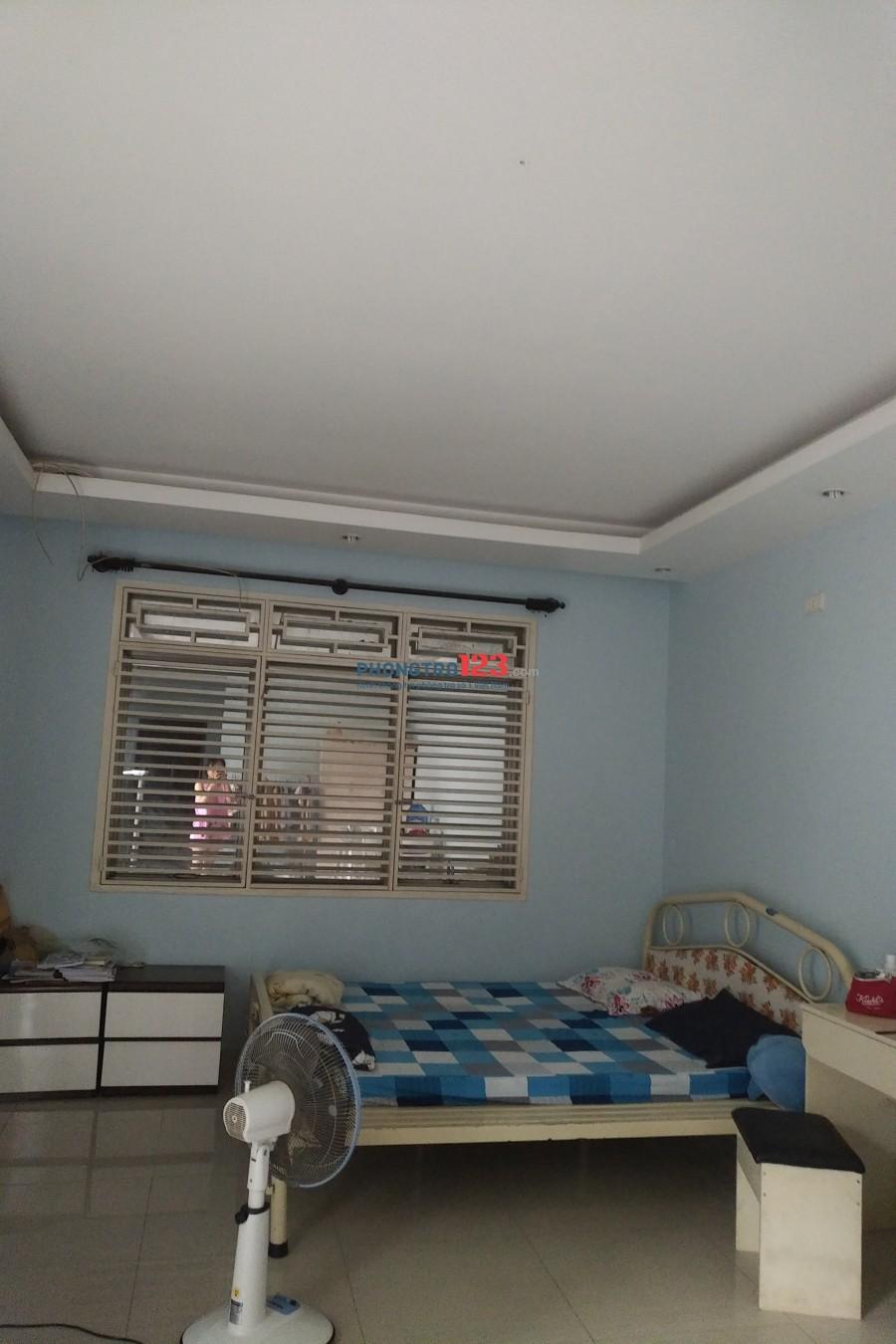 Tìm nữ ở ghép P25, Q.Bình Thạnh. Phòng đầy đủ nội thất