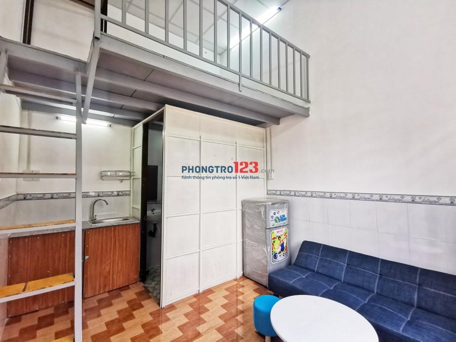 Nhà trọ cho thuê full nội thất giá rẻ, thuận tiện đi lại.