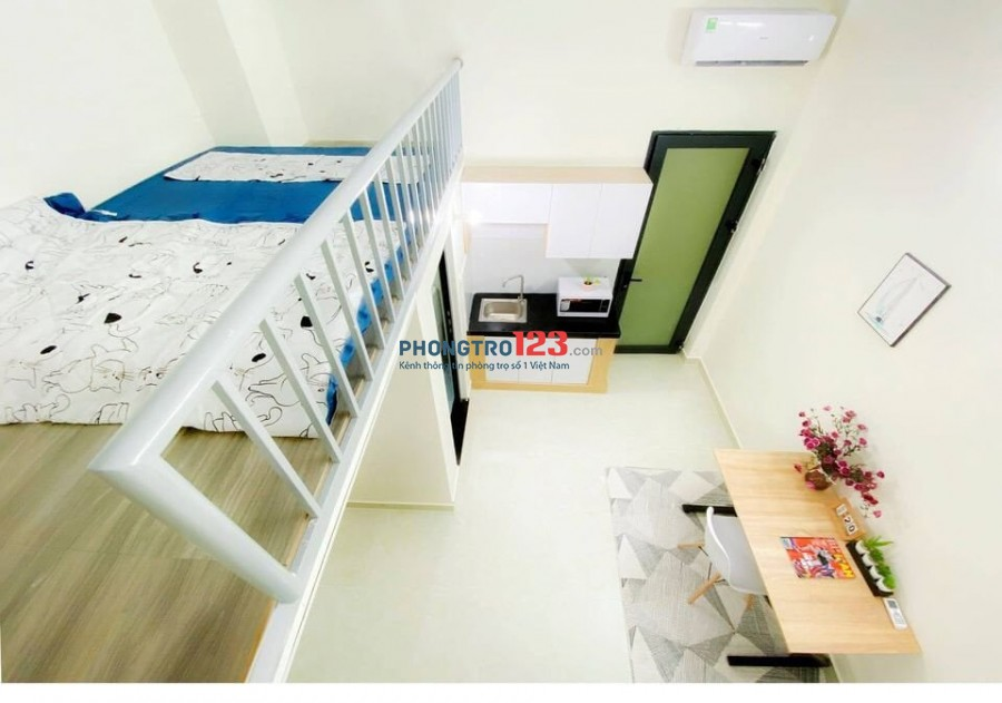 Phòng trọ full nội thất, không chung chủ đường Nguyễn Oanh P.6, Gò Vấp