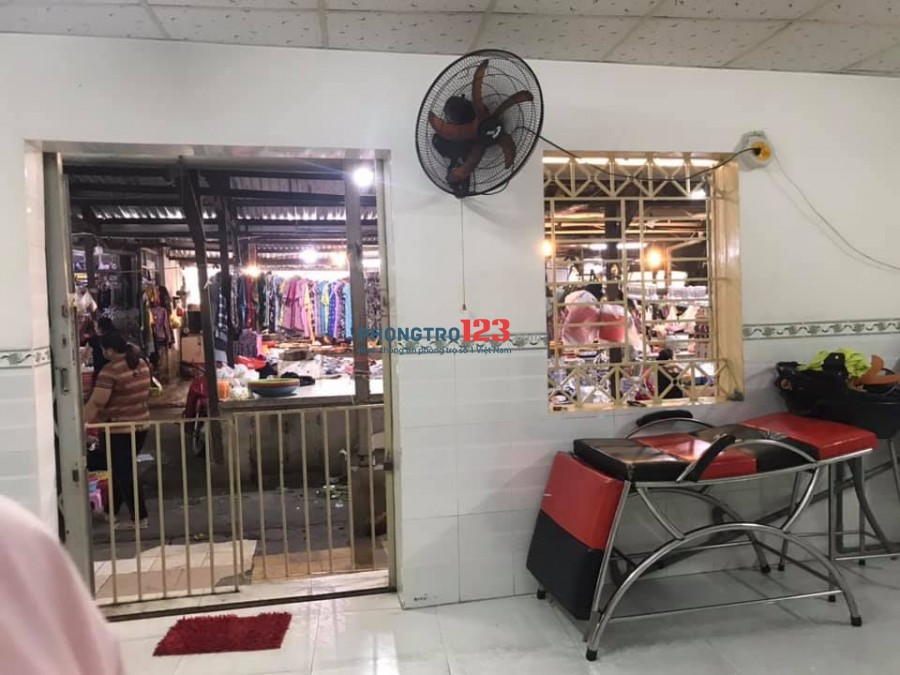 Nhà hẻm cho thuê 4 triệu/tháng đường Phạm Thế Hiển, ngay Chợ Lò Than P6-Q8-TP.HCM