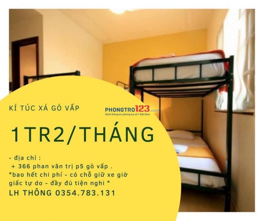 Ký túc xá gần dhcn, Emart và Vincom Phan Văn Trị, Quận Gò Vấp