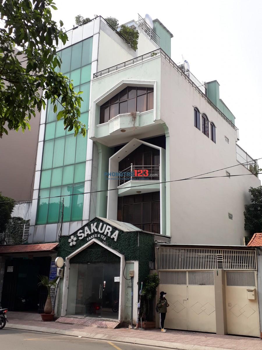 Cho thuê nhà mặt tiền 153 Đào Duy Anh quận Phú Nhuận