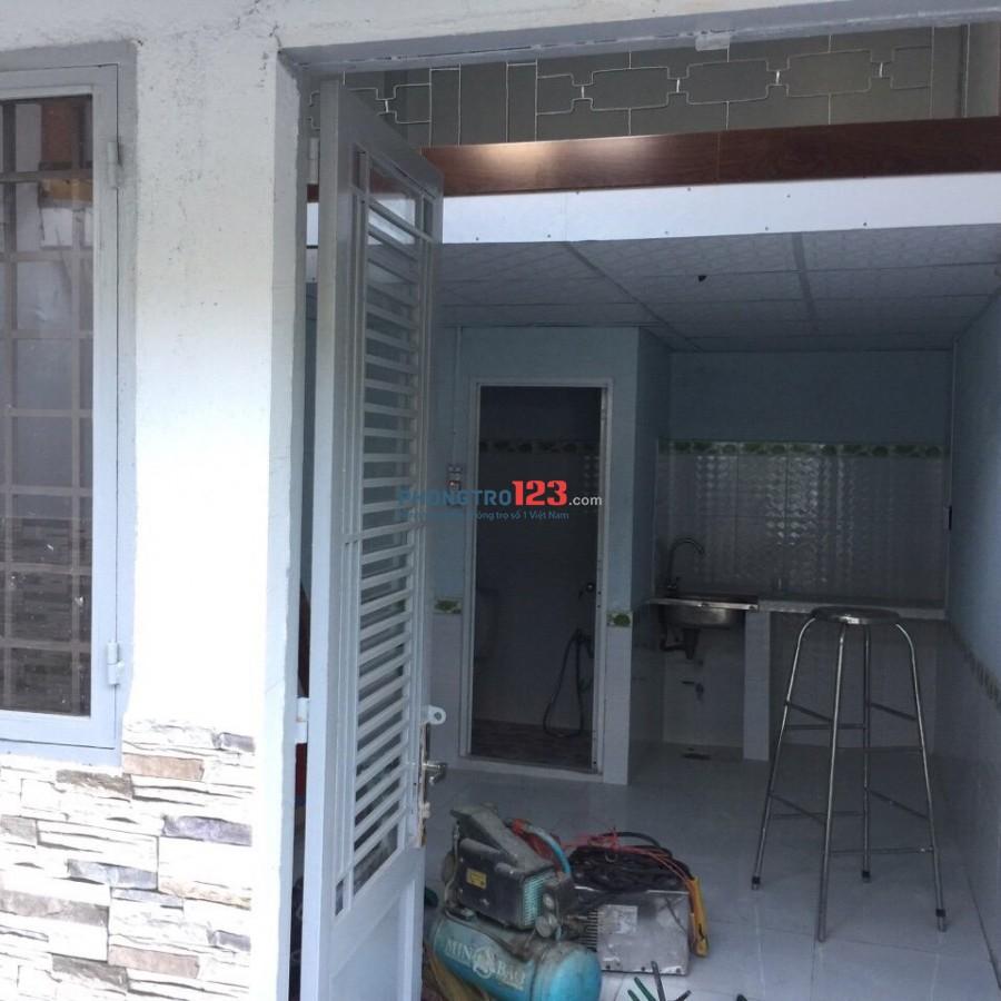 Chính chủ cho thuê phòng trọ mới xây có gác đường Tám Danh P4 Q8 giá 3,5tr/th