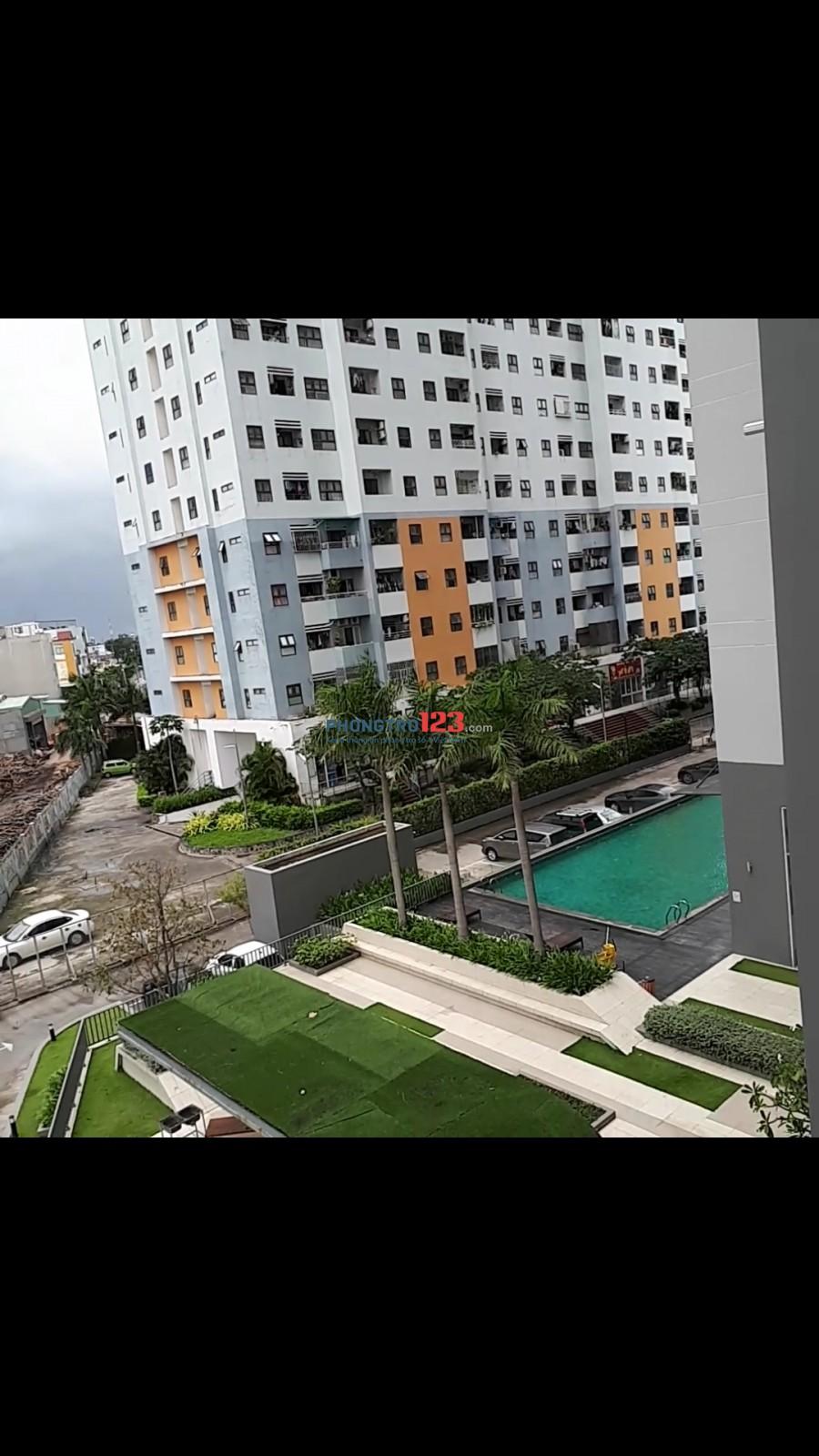 Cho thuê căn hộ góc,2 view, lầu 3 ,chung cư An Gia Star