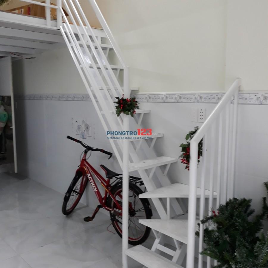 Cho thuê nhà 1 trệt 1 gác 35m2 tại 93/10b Phùng Tá Chu An Lạc A Q Bình Tân giá 4,5tr/th