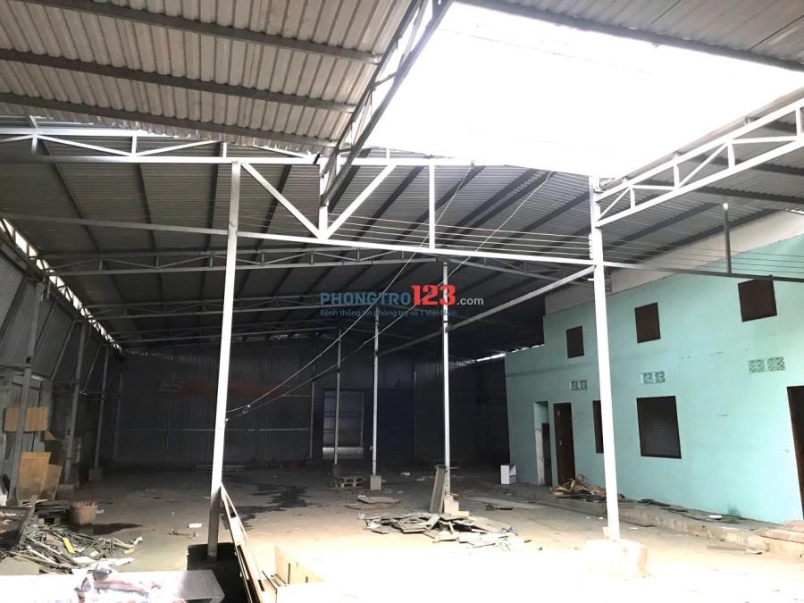 Chính chủ cho thuê 1300m2 làm Kho Xưởng Tại An Phú Đông 3 P An Phú Đông Q12