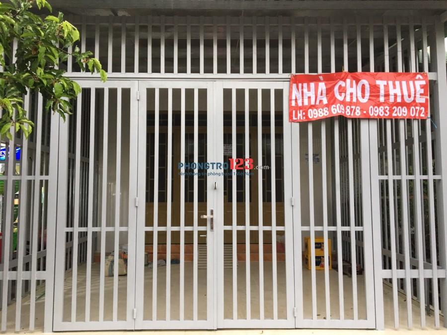 Chính chủ cho thuê nhà mới nguyên căn 5x25 chợ Gò Đen-Bến Lức-Long An