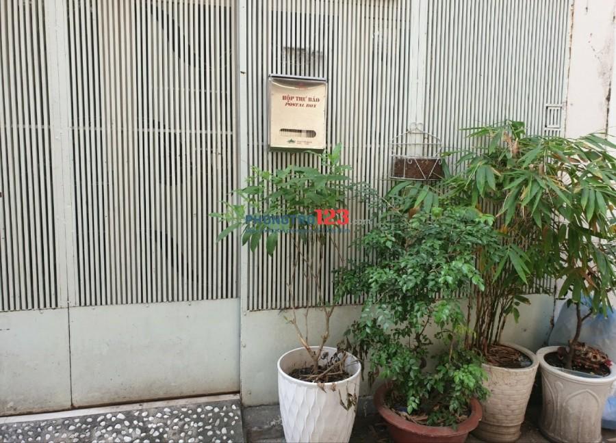 Cho thuê nhà nguyên căn (Gần công viên Lê Thị Riêng)
