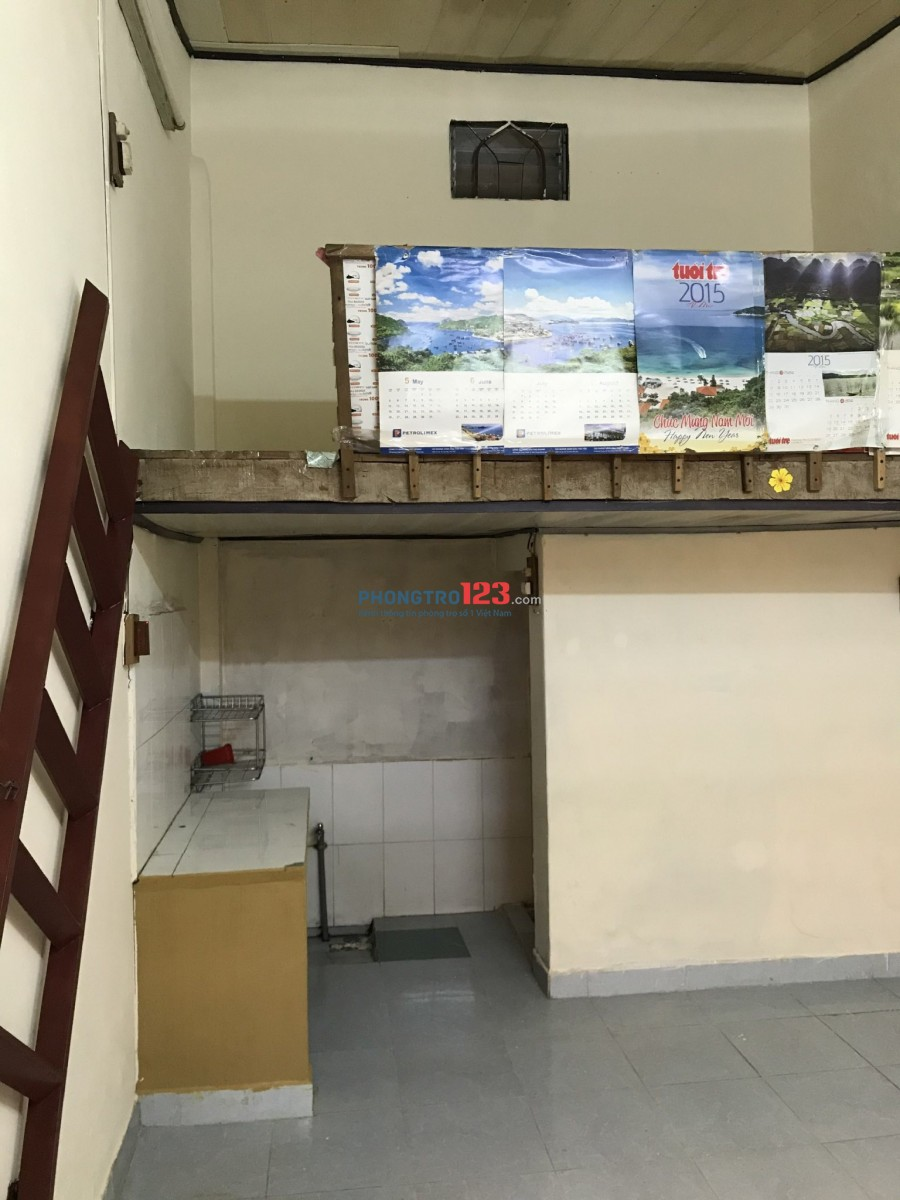 Cho thuê phòng trọ 15m2, gác lửng, 1tr/tháng, p.Phước Long