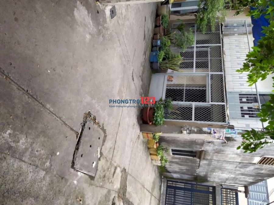 Nhà cho thuê 1 trệt, 1lửng, 1lầu p. Phú Thọ Hoà q.Tân Phú