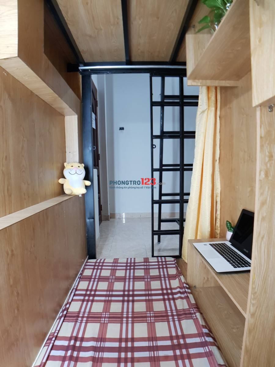 Phòng Trọ Mini ( Sleep box cho Nữ ) 1.600.000 không phát sinh