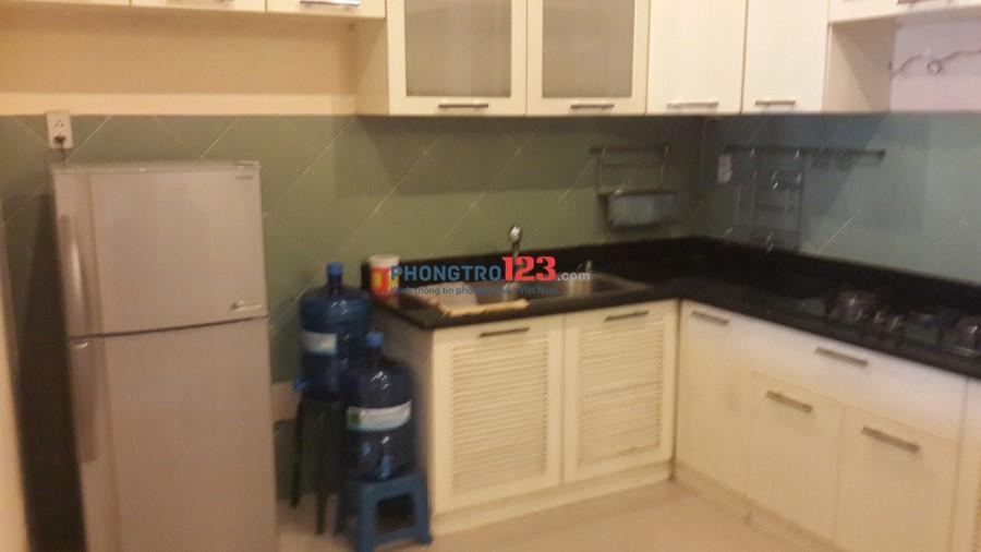 Cho thuê căn hộ lầu 2 số 174 Võ Thị Sáu P7 Q3 TPHCM