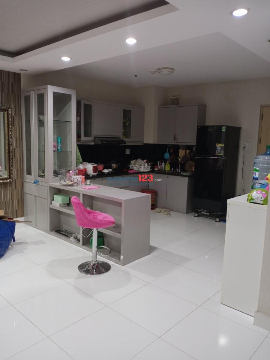 Cho thuê chung cư Bình Minh P Bình An Q2 109m2 3pn giá 11tr/tháng
