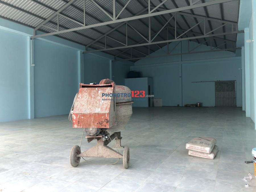 Chính chủ cho thuê kho xưởng mới xây 340m2 tại Thới An 13 P Thới An Q12