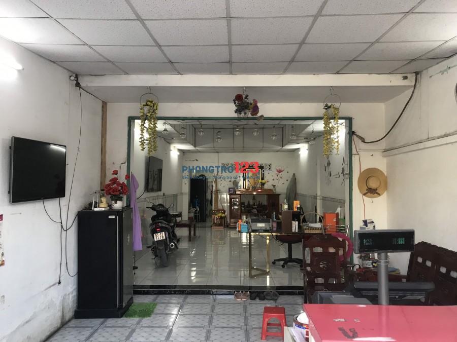 Cho thuê nhà nguyên căn 4x25 mặt tiền 91 Tô Ngọc Vân P Thạnh Xuân Q12 giá 12tr/th