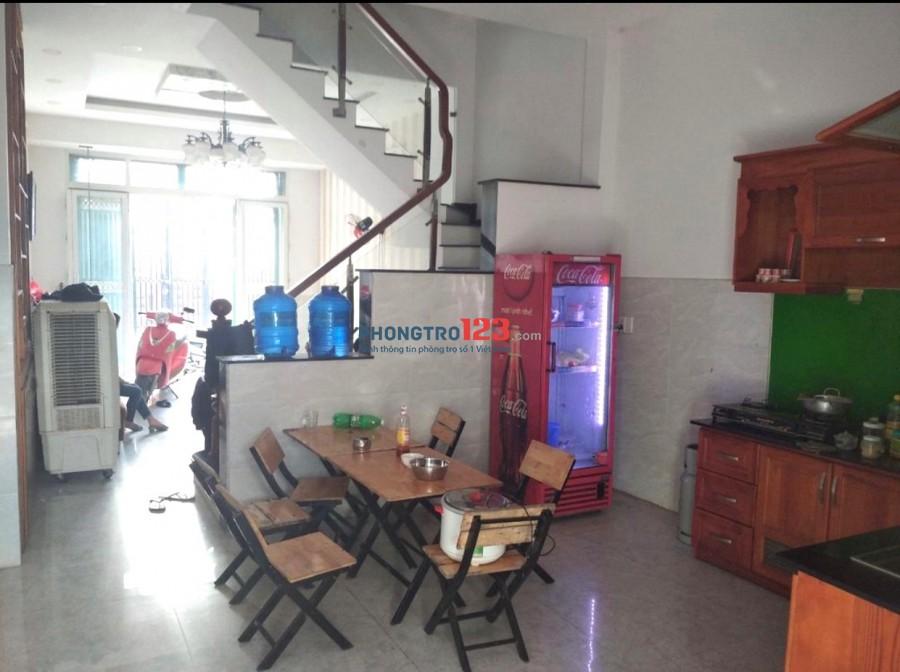 Cho thuê nhà 1 trệt 2 lầu hẻm xe hơi có 3pn 4x15 tại Bình Thành Q Bình Tân giá 9tr/th