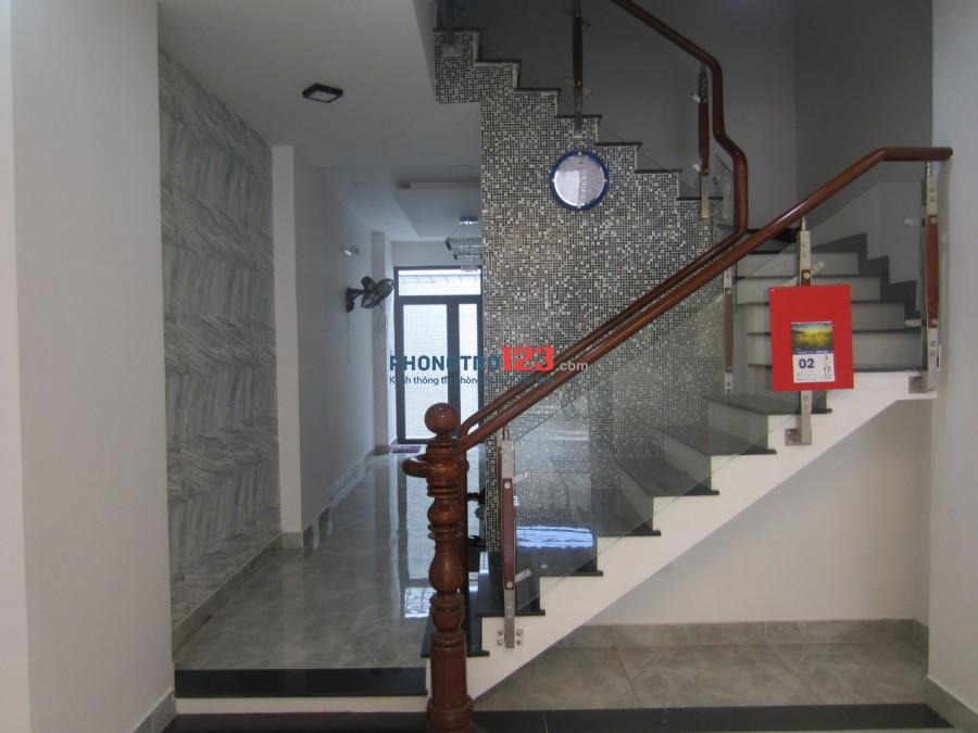 Cho thuê nhà mới 4x18 1 trệt 3 lầu gần ngã tư Kênh Tân Hóa và Trịnh Đình Thảo Tân Phú