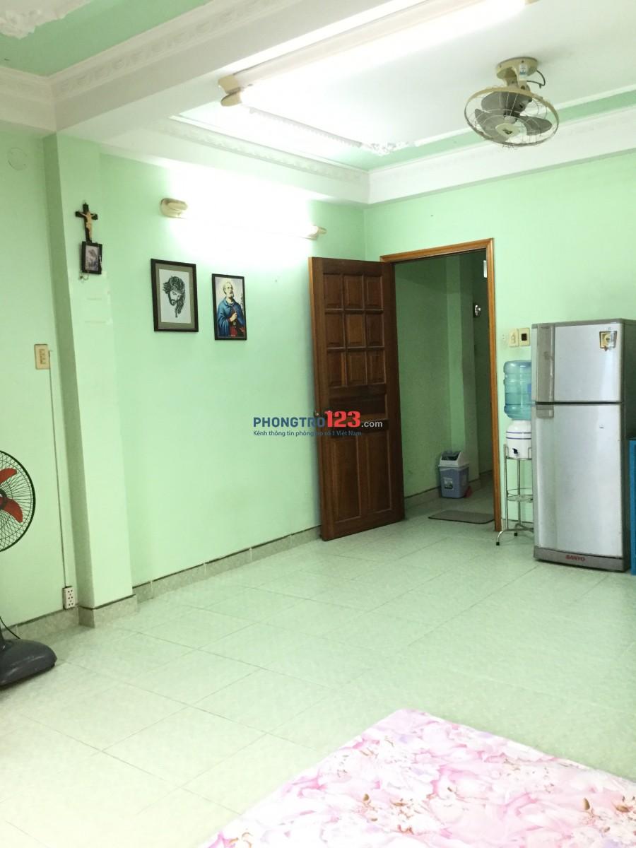 Phòng trọ lầu 1 & 2, đường CMT8, cách chợ Hoà hưng 100m
