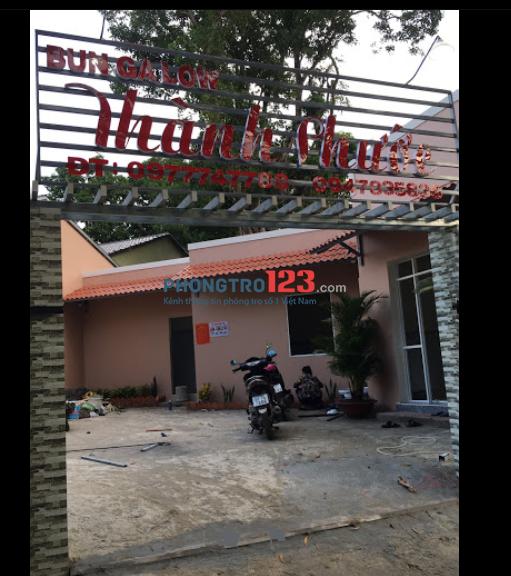 Cho thuê nhà – full đồ tại hẻm Chùa Ông ( gần Long beach Center )- 3tr5