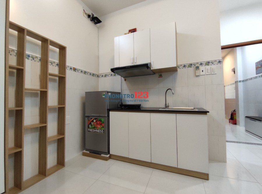Hệ thống phòng Quận 10 Studio, Douplex đầy đủ tiện nghi có ban công Mới 100%