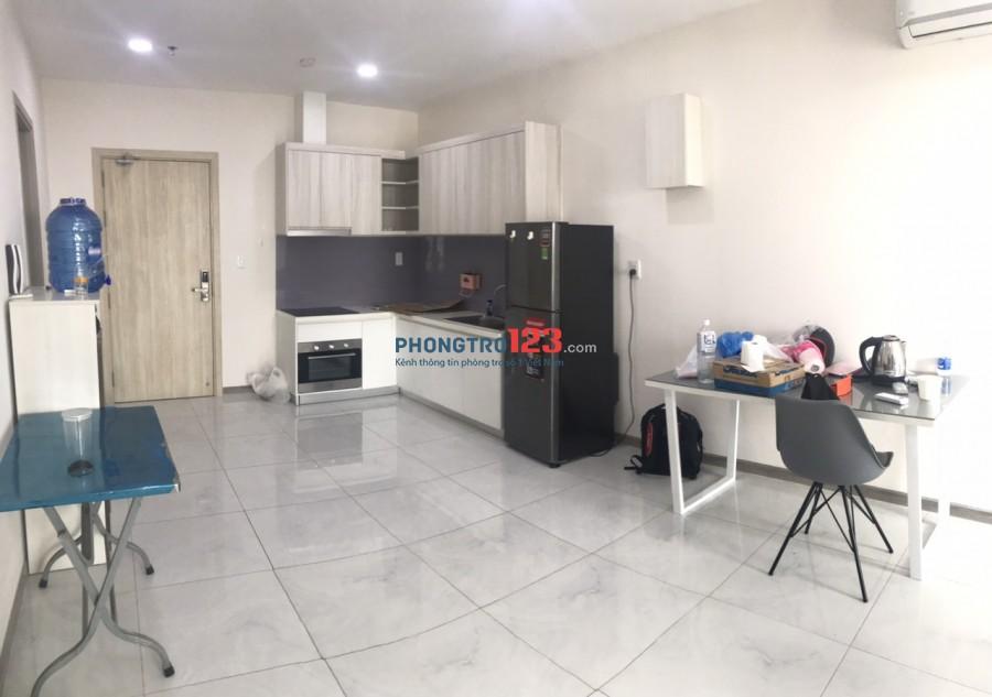 Cho thuê căn hộ ViVa Full nội thất 90m2 2pn tại 1472 Võ Văn Kiệt P3 Q6 giá 15tr/th