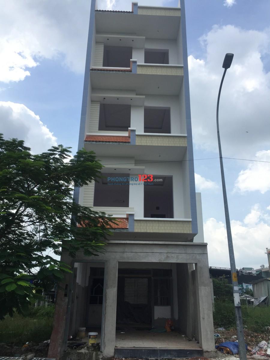 Cho thuê nhà NC mới xây 5x18 1 trệt 3 lầu mặt tiền Đường số 7 P Linh Xuân Thủ Đức