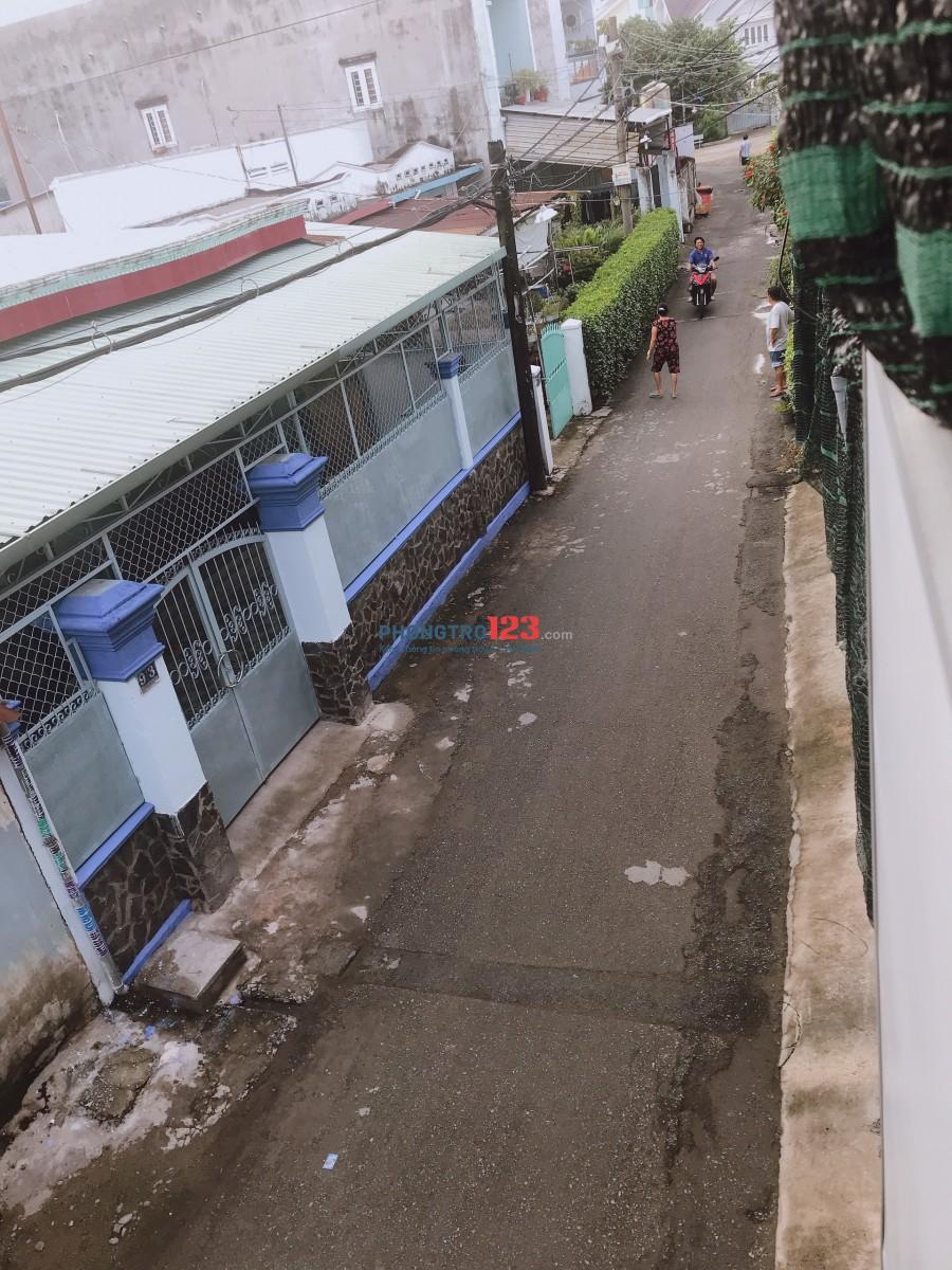 [Quận 12] Phòng trọ mới, 36m2, 1 trệt 1 gác suốt, 2.5tr/tháng, lối đi riêng, ngay Mega Market