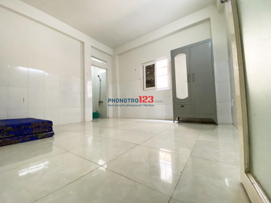 Phòng trọ trong chung cư giá rẻ có máy lạnh chỉ 2tr6 ưu đãi cuối tháng ngay Chợ Hạnh Thông Tây quận Gò Vấp