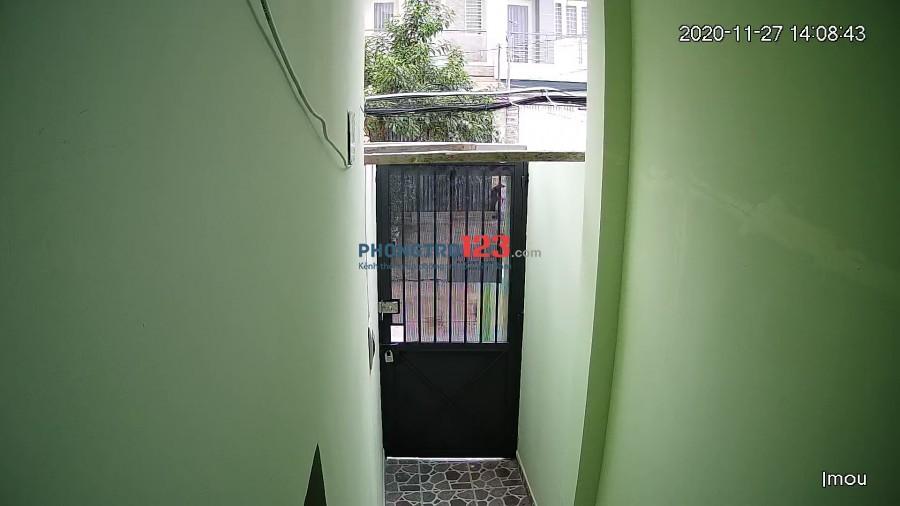 Phòng trọ mới xây bên hông chung cư Dream Home 2