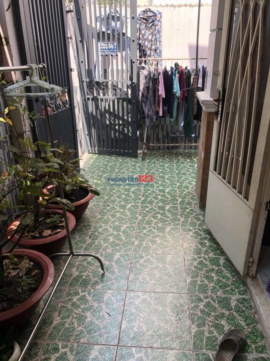 Cho thuê nhà NC 90m2 đầy đủ nội thất tại hẻm 222 Bùi Đình Túy P12 Q BThạnh giá 13tr/th