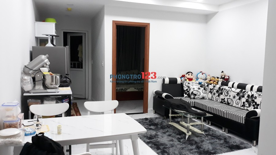 Cho thuê CHUNG CƯ PHÚC ĐẠT CONNECT, 1pn, 1toilet Full nội thất chỉ 5tr8